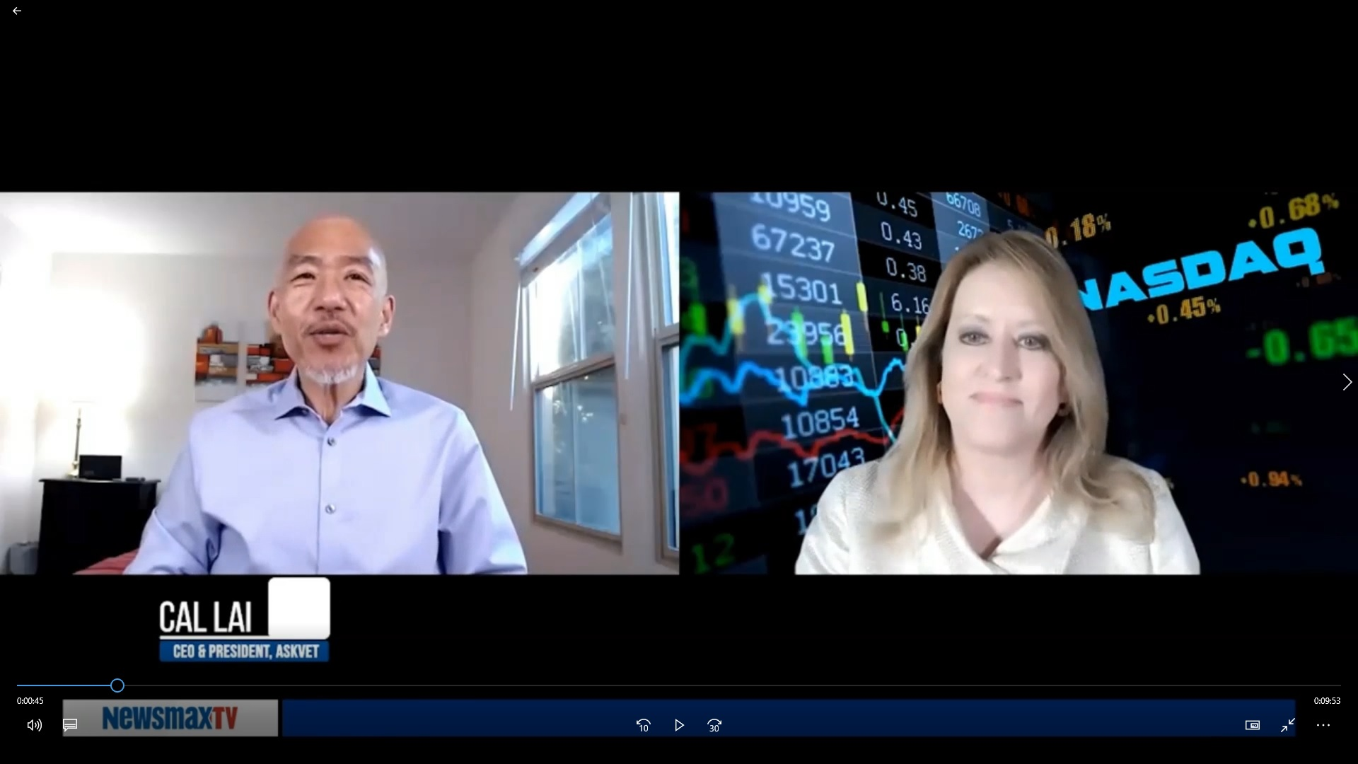 Cal Lai, CEO of AskVet, Inc. goes through the evolution and development of the AskVet App.